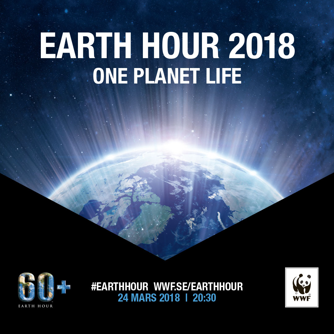 Gustavianum participates in Earth Hour 2018
